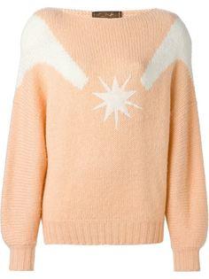 свитер с рисунком звезды Thierry Mugler Vintage