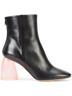 ботинки на прозрачном каблуке Ellery