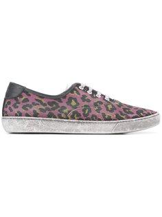 кроссовки с леопардовым узором Marc Jacobs