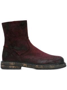 ботинки с потертым эффектом Ann Demeulemeester
