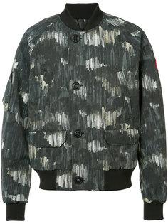 камуфляжная куртка-бомбер Canada Goose