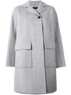 прямое пальто с одной пуговицей Joseph