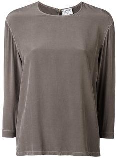 блуза с длинными рукавами Chanel Vintage