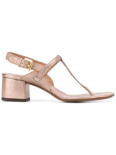 босоножки с ремешками на каблуках-столбиках LAutre Chose
