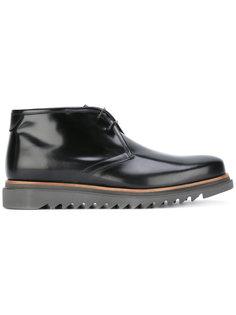 лакированные ботинки Salvatore Ferragamo