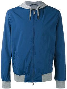 куртка на молнии с капюшоном Eleventy