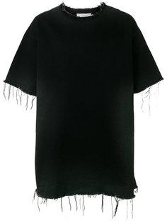 джинсовая футболка с необработанными краями Marquesalmeida Marquesalmeida