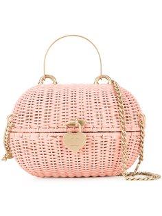 сумка-корзинка через плечо Chanel Vintage