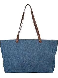 джинсовая сумка-тоут CC Chanel Vintage