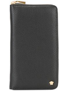 удлиненный кошелек с логотипом  Versace