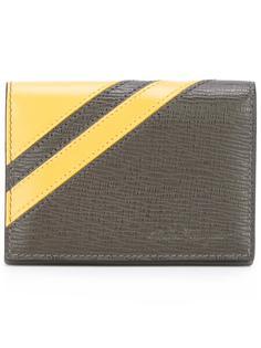 фактурный бумажник в полоску Salvatore Ferragamo