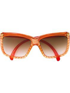 солнцезащитные очки с массивной оправой Christian Dior Vintage
