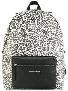 рюкзак с леопардовым принтом Alexander McQueen