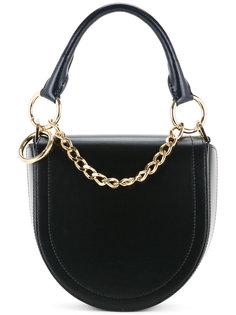 округлая сумка на плечо Sacai