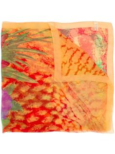 шарф с цветочным рисунком Kenzo Vintage