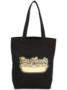 сумка-тоут с принтом Hot Dog Marc Jacobs