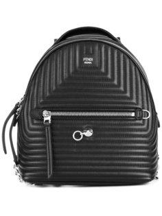 маленький стеганый рюкзак Fendi