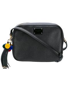 сумка на плечо на молнии с помпоном Dolce & Gabbana