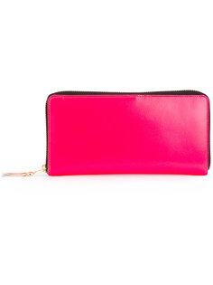 кошелек на молнии со вставкой Comme Des Garçons Wallet