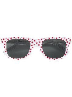 солнцезащитные очки с принтом звезд Saint Laurent Eyewear