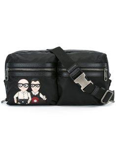 поясная сумка с заплаткой Designers Dolce & Gabbana