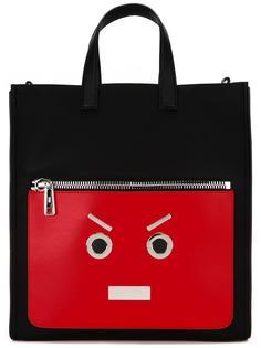 сумка-шоппер с принтом Fendi