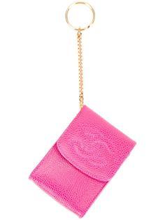 брелок-сумочка с логотипом СС Chanel Vintage