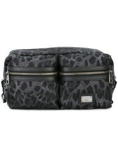 поясная сумка с леопардовым принтом Dolce & Gabbana