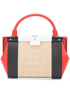 "сумка дизайна ""колор-блок"" Perrin Paris"