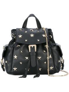 рюкзак с заклепками-звездами Red Valentino