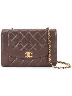 сумка с откидным клапаном Diana Chanel Vintage