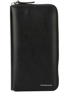 удлиненный кошелек с застежкой-молнией Burberry
