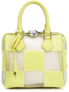сумка-тоут Speedy с прозрачными деталями Louis Vuitton Vintage
