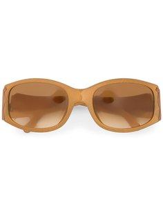овальные солнечные очки  Christian Dior Vintage