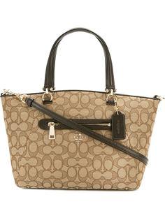 сумка через плечо с монограммным узором Coach