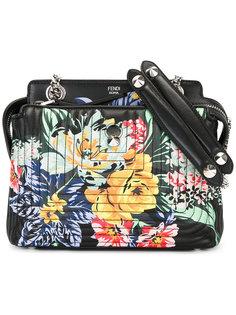сумка-тоут Dotcom с цветочным принтом Fendi