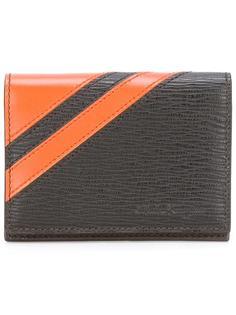 фактурный бумажник с полосатым принтом Salvatore Ferragamo