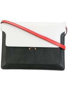 сумка на плечо Trunk дизайна колор-блок Marni