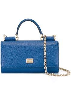 мини сумка через плечо Von  Dolce & Gabbana