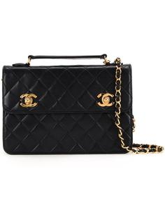 сумка на плечо с логотипами CC Chanel Vintage