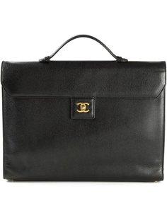 портфель с логотипом Chanel Vintage