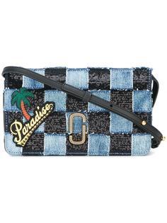 джинсовая сумка-сэтчел  лоскутного кроя Marc Jacobs