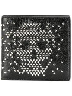 кошелек Skull с заклепками Alexander McQueen