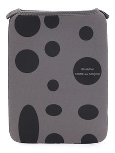 чехол для планшета в горох Comme Des Garçons Wallet
