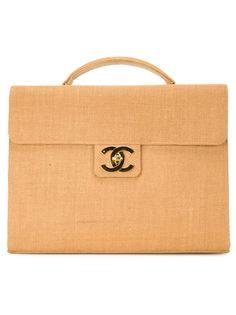 портфель из рафии Chanel Vintage