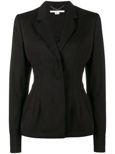 приталенный пиджак с баской Stella McCartney