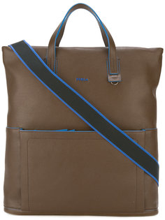 сумка-тоут с карманом спереди  Furla