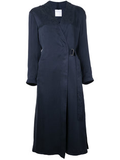 длинное пальто с длинными рукавами  Cityshop