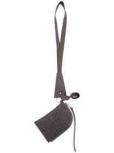 кошелек с ремешком на шею Rick Owens