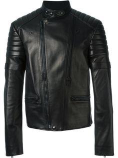 байкерская куртка с воротником-стойкой  Alexander McQueen